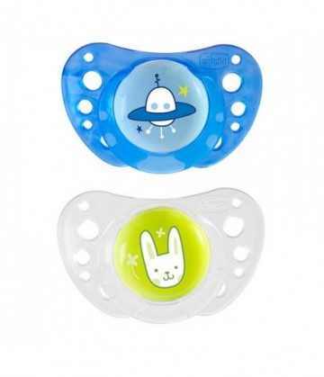 Set Unghie Chicco Happy Hands Azzurro